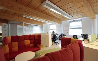 Al lavoro, ma sembra di essere a casa: in Bonduelle uffici sostenibili e senza barriere